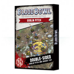 BLOOD BOWL: GOBLIN PITCH & DUGOUTS