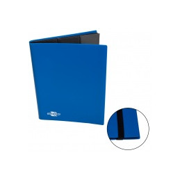 ALBUM 9 TASCHE FLEXIBLE CON ELASTICO - BLU