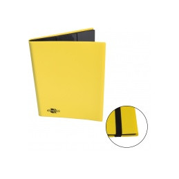 ALBUM 9 TASCHE FLEXIBLE CON ELASTICO - GIALLO