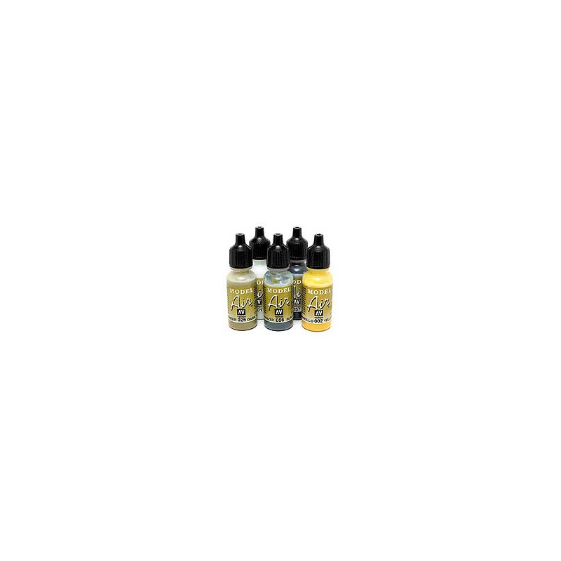 VALLEJO MODEL AIR COLOR 17 ML - AGGRESSOR GRAY