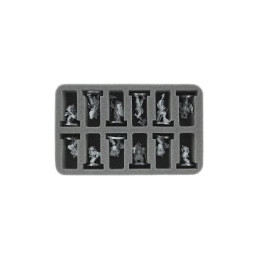 SPUGNA PER MINIATURE GW BASE 40 MM. (12 SCOMPARTI)