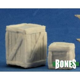 CRATES (LARGE AND SMALL) (2)(BONES)
