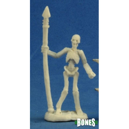 SKELETON WARRIOR SPEARMAN (3) (BONES)