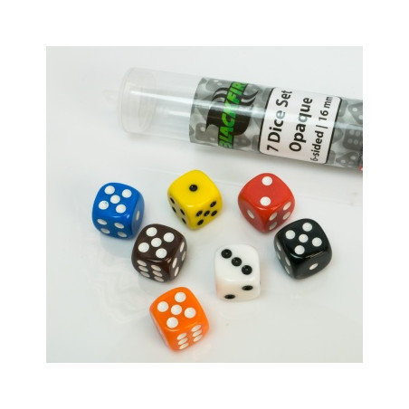 SET D6 OPACHI - MULTICOLORE