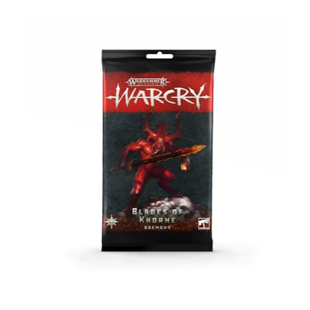 WARCRY PACCHETTO DI CARTE - BLADES OF KHORNE (DAEMONS)