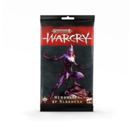 WARCRY PACCHETTO DI CARTE - HEDONITES OF SLAANESH