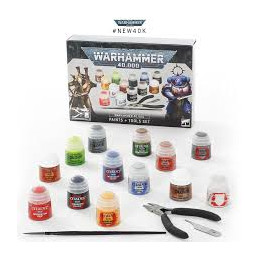 WH40K PAINTS + TOOLS