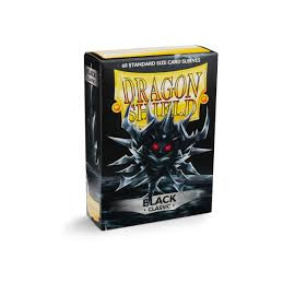 DRAGON SHIELD PROTEGGI CARTE STANDARD - BLACK (60)