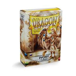 DRAGON SHIELD PROTEGGI CARTE STANDARD - IVORY (60)