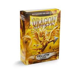 DRAGON SHIELD PROTEGGI CARTE STANDARD - YELLOW (60)