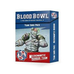 BLOOD BOWL: NECROMANTIC TEAM CARDS (ENG)
