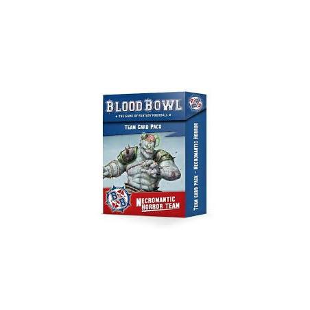 BLOOD BOWL: NECROMANTIC TEAM CARDS (ENG)
