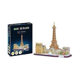 PUZZLE 3D 114 PZ. - PARIS SKYLINE