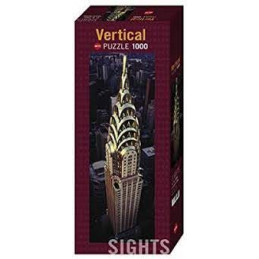 PUZZLE 1000 PZ. SIGHTS - CHRYSLER BUILDING (VERT)