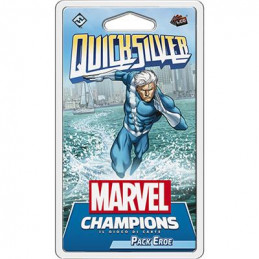 MARVEL CHAMPIONS LCG: QUICKSILVER (PACK EROE)