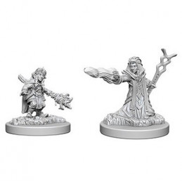 D&D NOLZUR\'S MARVELOUS MINIATURES - MAGO GNOMO FEMMINA