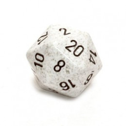D20 GIGANTE 34MM SPECKLED - ARTICO MIMETICO