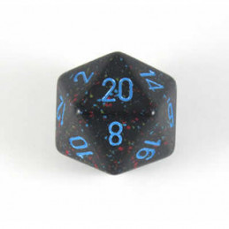 D20 GIGANTE 34MM SPECKLED - BLU STELLATO