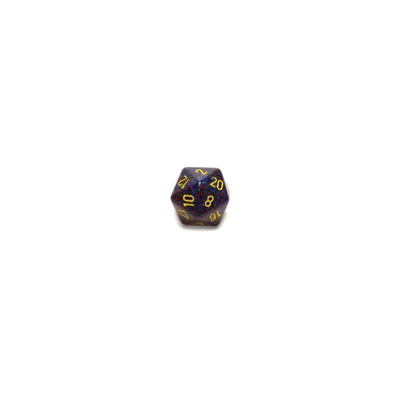 D20 GIGANTE 34MM SPECKLED - CREPUSCOLO