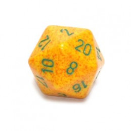 D20 GIGANTE 34MM SPECKLED - LOTO