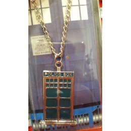 DOCTOR WHO TARDIS 2D COLLANA
