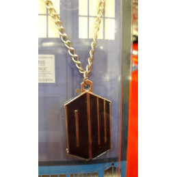 DOCTOR WHO TARDIS 3D COLLANA