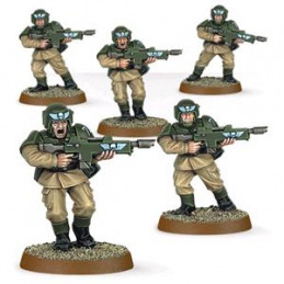 EASY TO BUILD - ASTRA MILITARUM CADIANS - CADIANI DELLA GUARDIA (5)